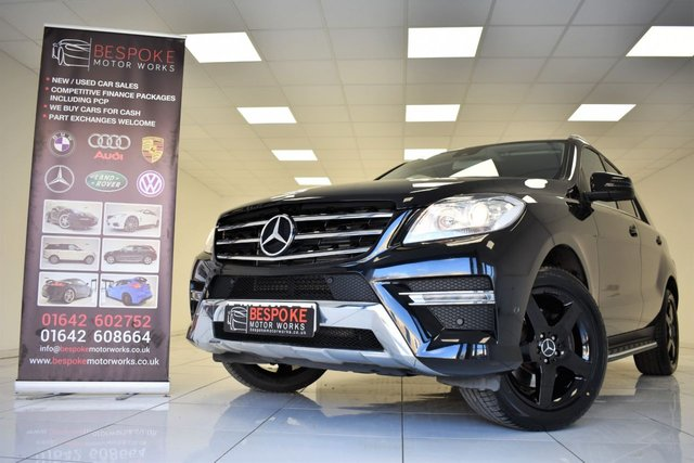 2014 14 MERCEDES-BENZ M CLASS ML250 2.1 BLUETEC AMG SPORT