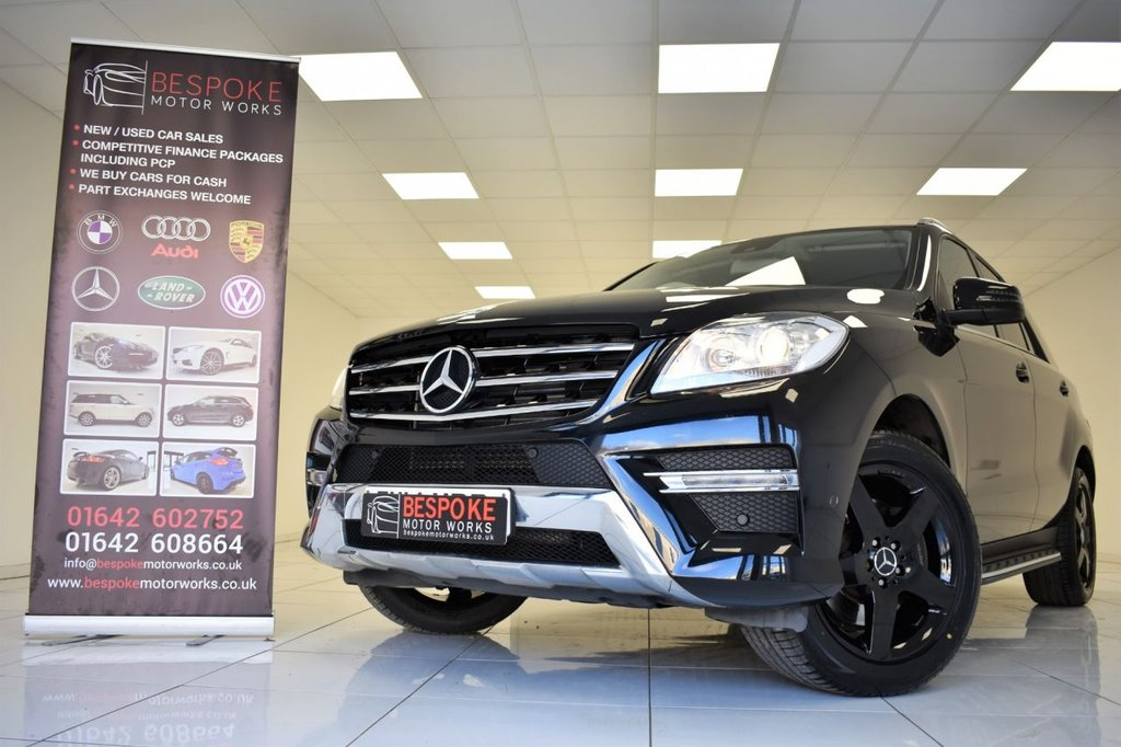 USED 2014 14 MERCEDES-BENZ M CLASS ML250 2.1 BLUETEC AMG SPORT