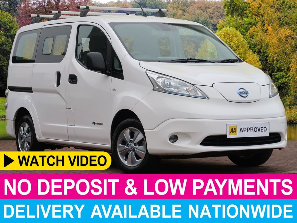 USED 2016 16 NISSAN NV200 ELECTRIC RAPID PLUS TEKNA 5 SEAT MPV AUTO FAST CHARGE FULL ELECTRIC MPV