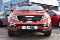 USED 2010 10 KIA SPORTAGE 2.0 CRDI FIRST EDITION 5d 134 BHP NO DEPOSIT FINANCE AVAILABLE