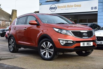 2010 KIA SPORTAGE 2.0 CRDI FIRST EDITION 5d 134 BHP £7499.00