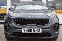 USED 2017 66 KIA SPORTAGE 1.7 CRDI 2 ISG 5d 114 BHP CAR FINANCE APPROVAL IN UNDER A MINUTE