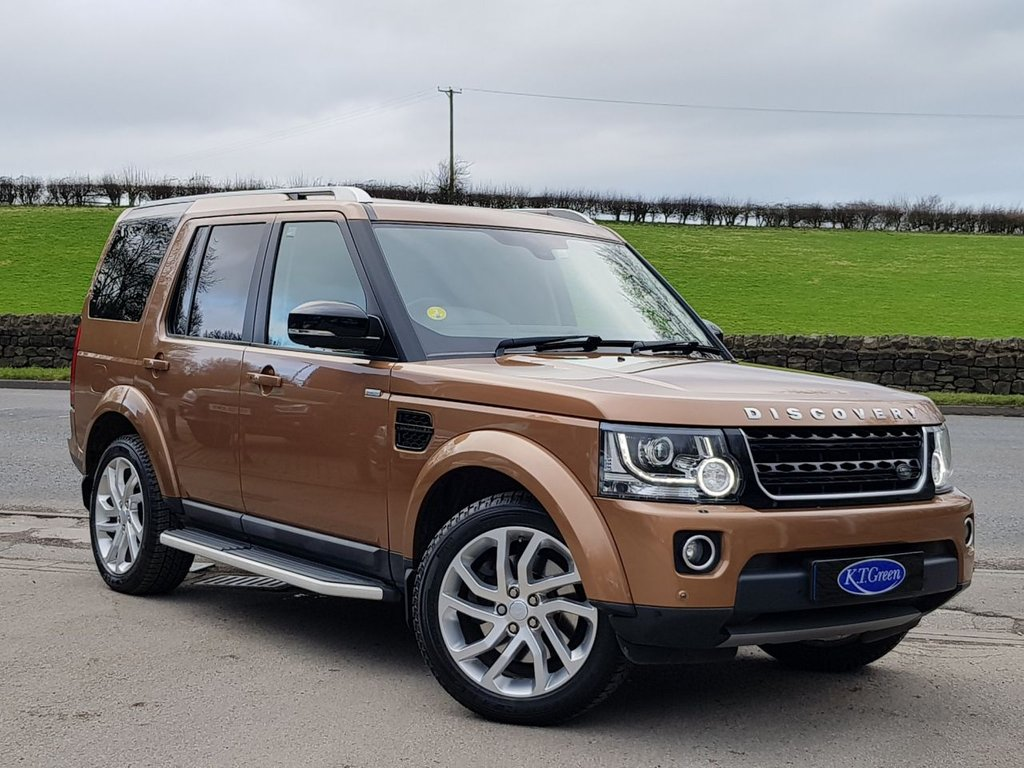 USED 2016 16 LAND ROVER DISCOVERY 3.0 SDV6 LANDMARK 5d 255 BHP STUNNING COLOUR COMBINATION, FULL LR SERVICE HISTORY