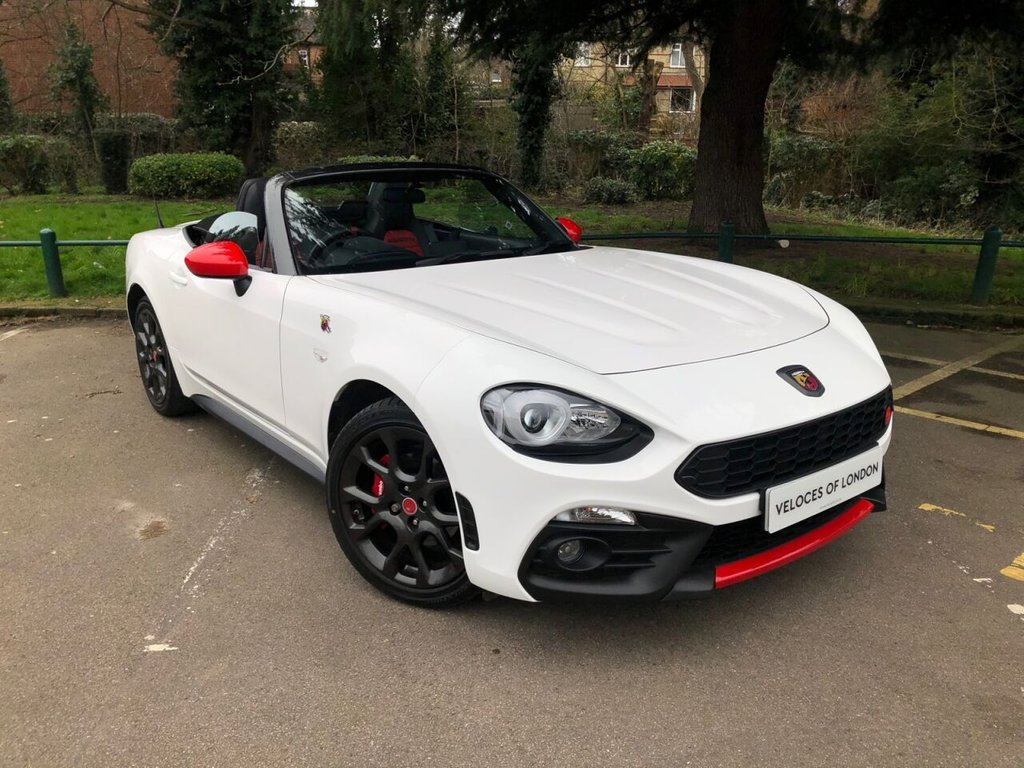 USED 2017 67 ABARTH 124 1.4L SPIDER MULTIAIR 2d 168 BHP JUST 2800 MILES
