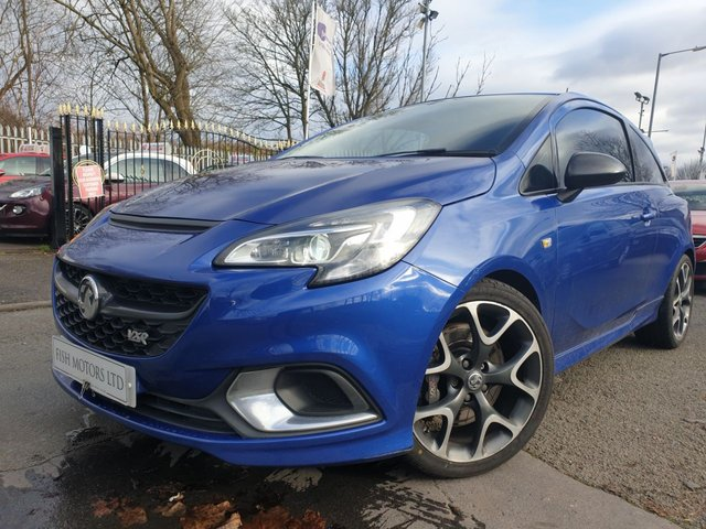 USED 2015 15 VAUXHALL CORSA 1.6 VXR 3d 202 BHP FULLLEATHER+AIRCON+AUX+BLUE+DAB+HEATED+HEATEDSTEERING+PRIGLASS+