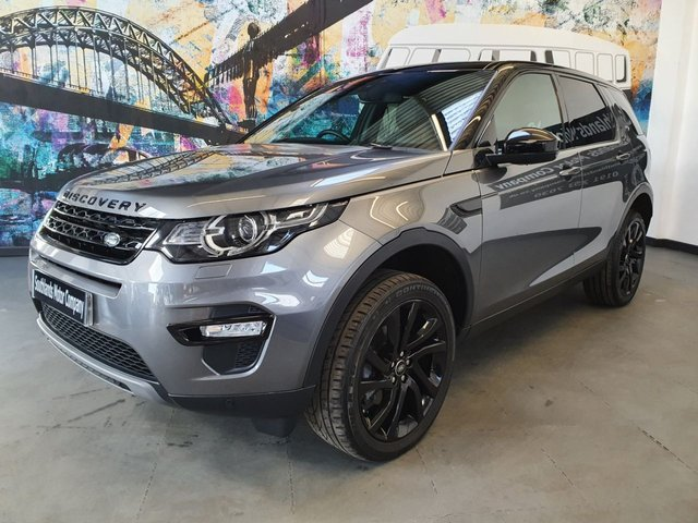 USED 2018 67 LAND ROVER DISCOVERY SPORT 2.0 TD4 HSE BLACK 5d 180 BHP