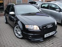 USED 2007 56 AUDI A4 4.2 RS4 QUATTRO 5d 420 BHP ANY PART EXCHANGE WELCOME, COUNTRY WIDE DELIVERY ARRANGED, HUGE SPEC