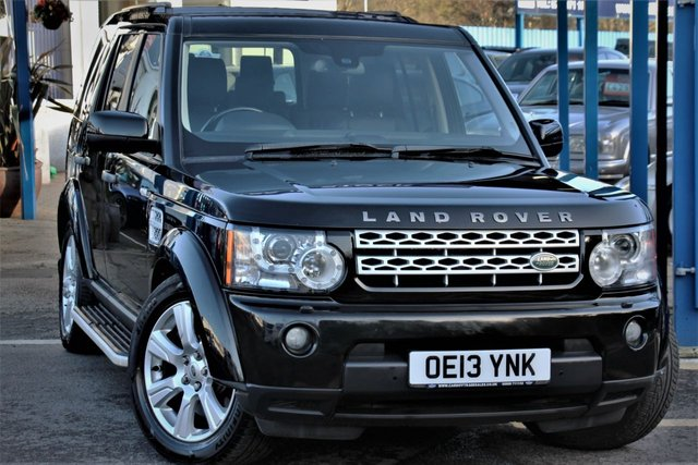 2013 L LAND ROVER DISCOVERY 3.0 4 SDV6 HSE 5d 255 BHP