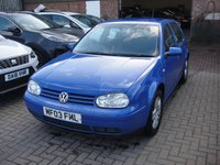 USED 2003 03 VOLKSWAGEN GOLF 1.9 GT TDI 5d 129 BHP ANY PART EXCHANGE WELCOME, COUNTRY WIDE DELIVERY ARRANGED, HUGE SPEC