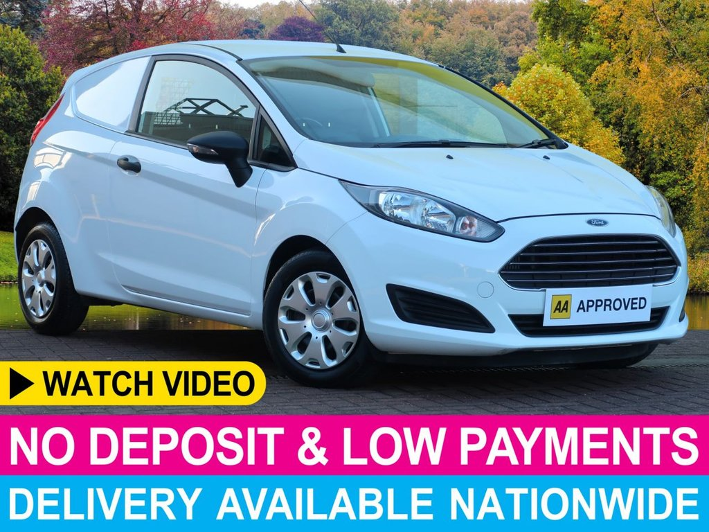 USED 2016 65 FORD FIESTA 1.5 ECONETIC PANEL VAN AIR CON ELECTRIC PACK 60 + MPG
