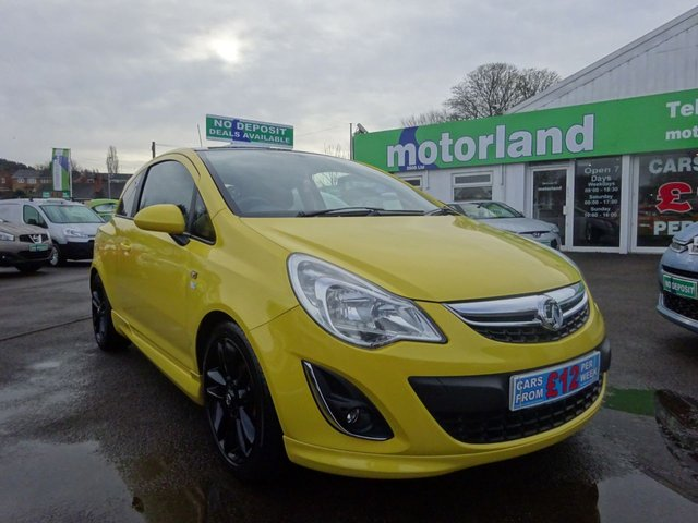 USED 2012 12 VAUXHALL CORSA 1.2 LIMITED EDITION 3d 83 BHP ** 01543 877320  ** JUST ARRIVED **