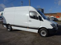 USED 2015 65 MERCEDES-BENZ SPRINTER 2.1 313 CDI MWB HI ROOF, 129 BHP [EURO 5]
