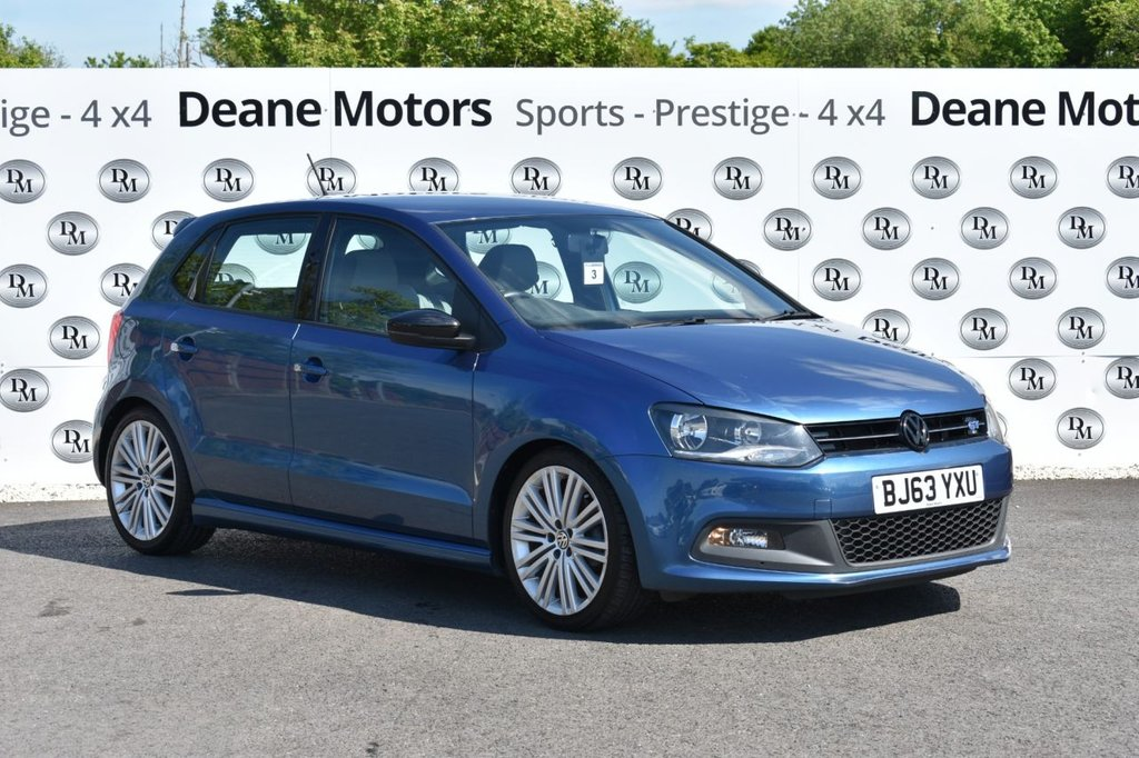 USED 2013 63 VOLKSWAGEN POLO 1.4 BLUEGT 5d 140 BHP AMAZING CONDITION
