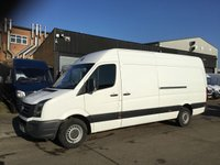 USED 2016 16 VOLKSWAGEN CRAFTER 2.0TDI CR35 LWB HIGH ROOF STARTLINE 136BHP. LOW 73K MILES. PX 1 OWNER. LEZ COMPLIANT. FINANCE. LOW 73K MILES. PX