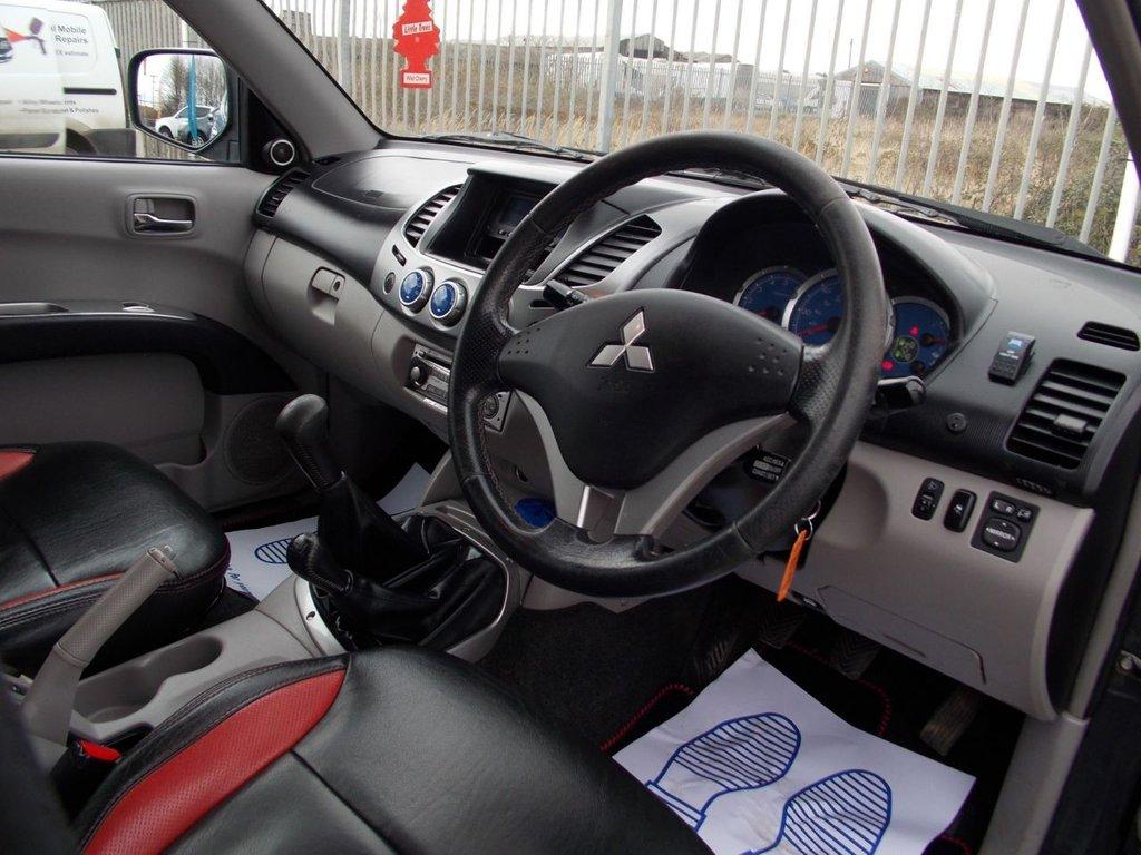 USED 2010 59 MITSUBISHI L200 2.5 4WD RAGING BULL DCB 134 BHP