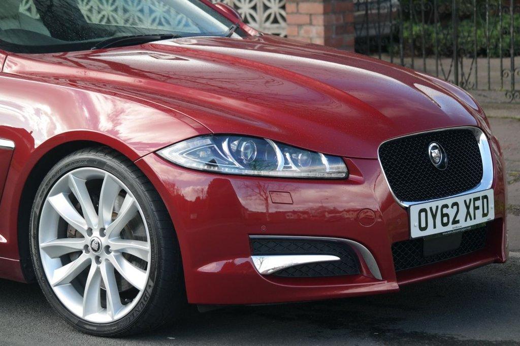 USED 2012 62 JAGUAR XF 3.0 V6 PORTFOLIO 4d 340 BHP Huge Spec Jaguar Press Release Car