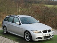 USED 2009 59 BMW 3 SERIES 2.0 320D M SPORT BUSINESS EDITION TOURING 5d 175 BHP