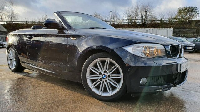 USED 2012 62 BMW 1 SERIES 2.0 118D M SPORT 2d 141 BHP 2KEYS+NAV+ELECS+PARK+CD+MEDIA+AIRCON+HISTORY+ALLOYS+LEATHER+USB+