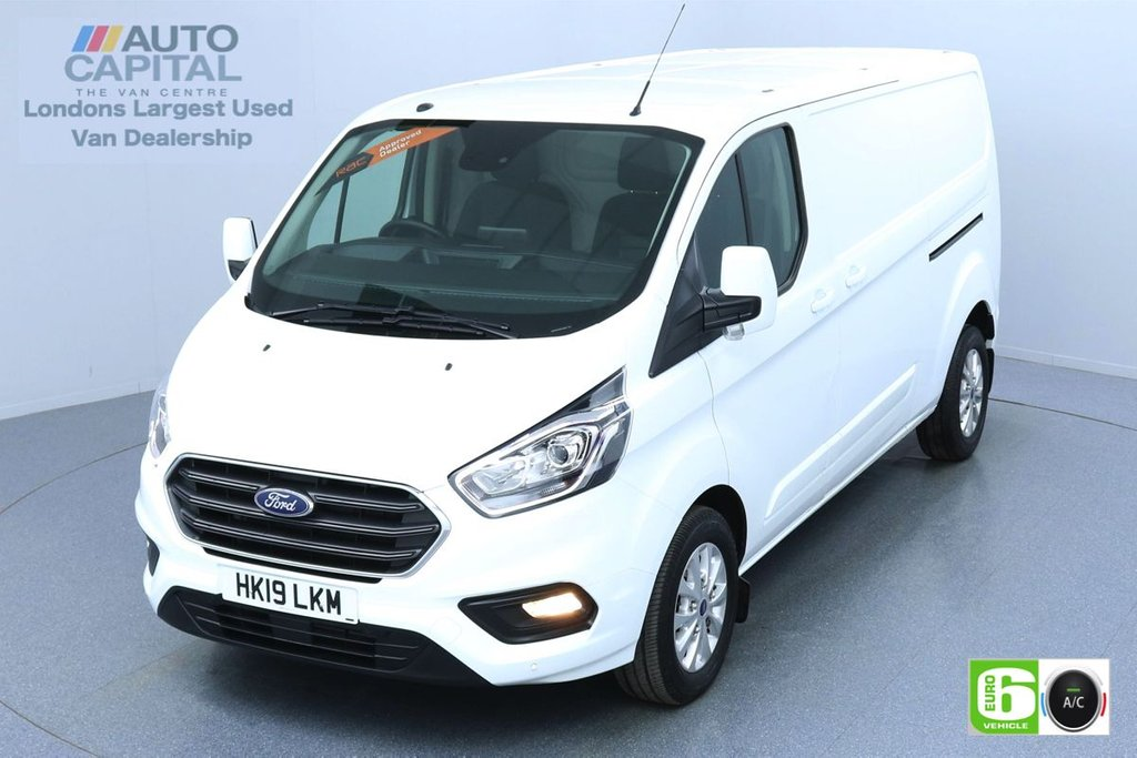 USED 2019 19 FORD TRANSIT CUSTOM 2.0 300 LIMITED L2 H1 130 BHP AUTO EURO 6 ENGINE AIR CON | PARKING SENSORS | ALLOY WHEELS