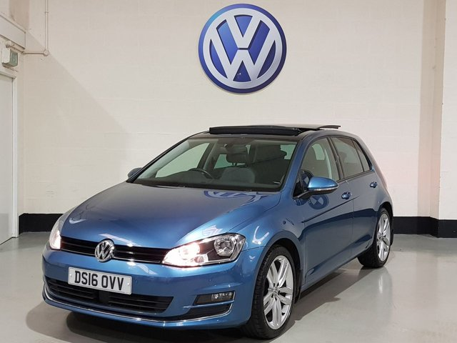 USED 2016 16 VOLKSWAGEN GOLF 1.6 GT EDITION TDI BLUEMOTION TECHNOLOGY DSG 5d 109 BHP Panoramic Roof/ Sat-Nav/ Parking Sensors/ Just Serviced