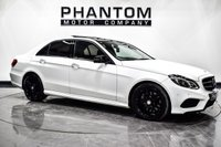USED 2016 66 MERCEDES-BENZ E-CLASS 3.0 E350 BLUETEC AMG NIGHT ED PREMIUM PLUS 4d 255 BHP