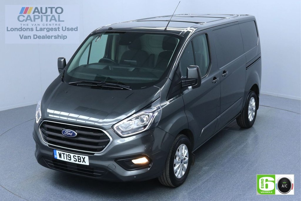 USED 2019 19 FORD TRANSIT CUSTOM 2.0 280 LIMITED L1 H1 130 BHP EURO 6 ENGINE AIR CON | PARKING SENSORS | ALLOY WHEELS