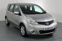 USED 2009 09 NISSAN NOTE 1.4 ACENTA 5d 88 BHP 2 OWNERS with 7 Stamp SERVICE HISTORY