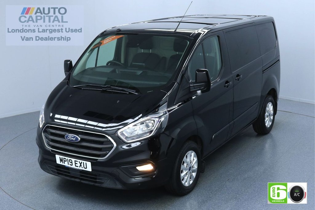 USED 2019 19 FORD TRANSIT CUSTOM 2.0 300 LIMITED L1 H1 130 BHP AUTO EURO 6 ENGINE REVERSE CAMERA   AIR CON   PARKING SENSORS   ALLOY WHEELS