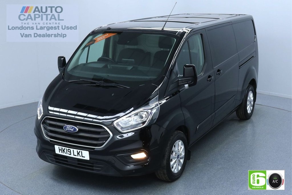 USED 2019 19 FORD TRANSIT CUSTOM 2.0 320 LIMITED L2 H1 130 BHP AUTO EURO 6 ENGINE  AIR CON | PARKING SENSORS | ALLOY WHEELS