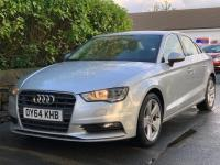 USED 2015 64 AUDI A3 2.0 TDI Sport S Tronic (s/s) 4dr SAT NAV /SILVER *REDUCED*