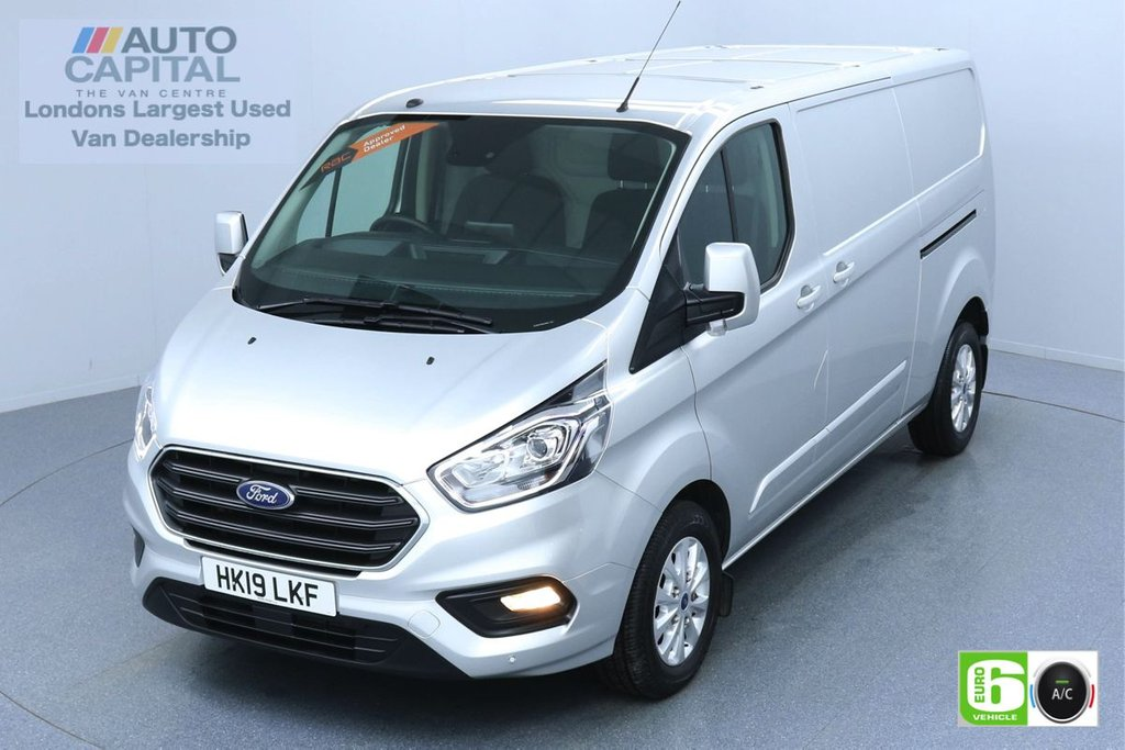 USED 2019 19 FORD TRANSIT CUSTOM 2.0 300 LIMITED L2 H1 130 BHP AUTO EURO 6 ENGINE AIR CON | PARKING SENSORS | ALLOY WHEEL