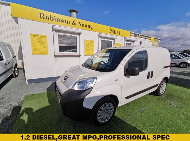 USED 2017 67 PEUGEOT BIPPER 1.2 HDI PROFESSIONAL 79 BHP *RARE AIR CON*