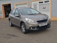 USED 2014 64 PEUGEOT 2008 1.2 ACTIVE 5d 82 BHP Bluetooth, Peugeot Apps Media, Roof Rails, 2 Service Stamps