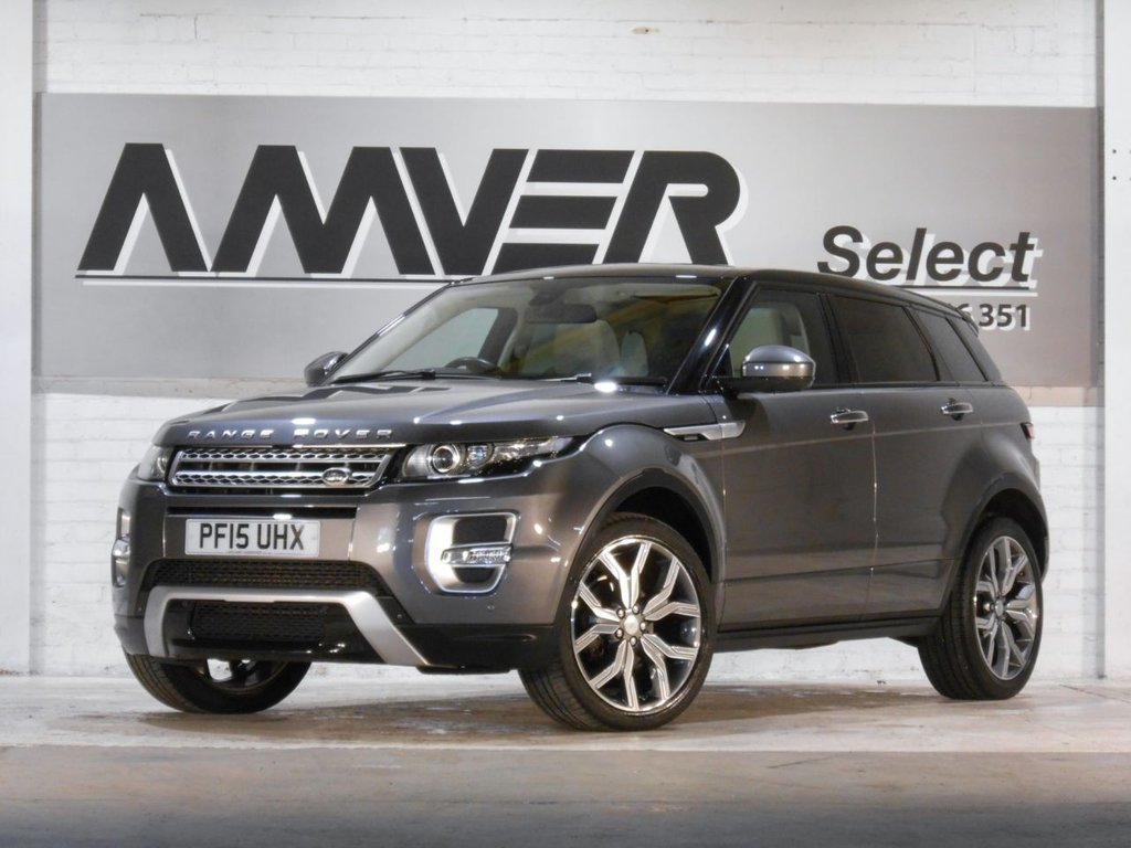 USED 2015 15 LAND ROVER RANGE ROVER EVOQUE 2.2 SD4 AUTOBIOGRAPHY 5d 190 BHP