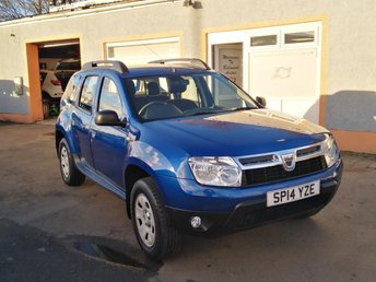 2014 DACIA DUSTER 1.5 AMBIANCE DCI 4WD 5d 109 BHP £6199.00