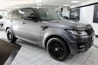 USED 2015 15 LAND ROVER RANGE ROVER SPORT 3.0 SDV6 AUTOBIOGRAPHY DYNAMIC AUTO 306 BHP LRSH PAN ROOF HOT & COLD LTHR