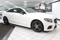 USED 2018 18 MERCEDES-BENZ E CLASS E 220 D AMG LINE PREMIUM 192 BHP FMBSH 1 FORMER PAN ROOF