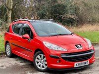 USED 2008 08 PEUGEOT 207 1.6 SW S 5d 89 BHP FULL PANORAMIC GLASS ROOF
