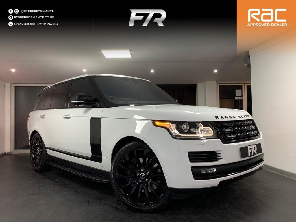 USED 2016 D LAND ROVER RANGE ROVER 4.4 SDV8 VOGUE SE 5d 339 BHP