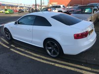 USED 2012 62 AUDI A5 2.0 TDI BLACK EDITION 2d 177 BHP