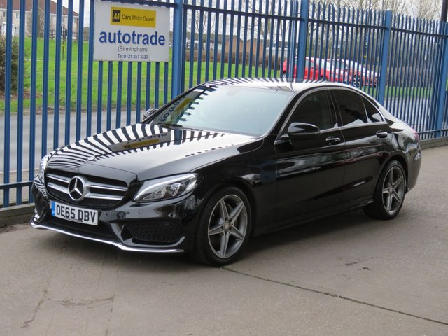 USED 2015 65 MERCEDES-BENZ C CLASS 1.6 C200 D AMG LINE 4dr Sat nav Leather Cruise Heated seats Park camera ULEZ COMPLIANT Ulez compliant Finance arranged Part exchange available Open 7 days