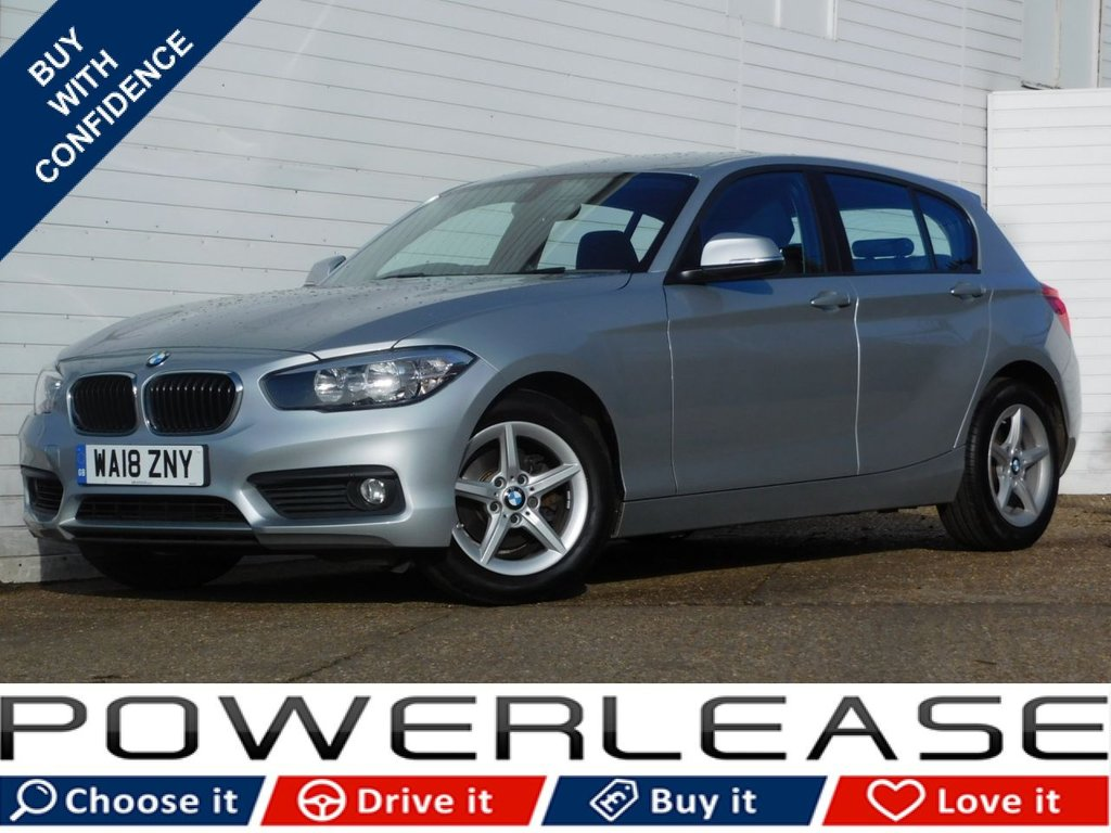 USED 2018 18 BMW 1 SERIES 1.5 118I SE 5d 134 BHP 1OWNER PARKING SENSORS SAT NAV