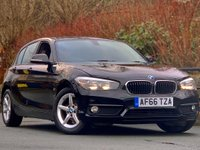 USED 2017 66 BMW 1 SERIES 1.5 116d ED Plus (s/s) 5dr 1 Owner from new / Sat nav