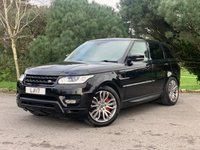 USED 2013 LAND ROVER RANGE ROVER SPORT 3.0 SDV6 HSE DYNAMIC 5d 288 BHP HSE DYNAMIC, PAN ROOF, HEATED STEERING WHEEL, SELF PARK, PRIVACY GLASS, GREAT SPEC FULL LAND ROVER SERVICE HISTORY, PX AVAILABLE AND FINANCE!!!