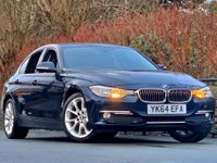 USED 2015 64 BMW 3 SERIES 2.0 320d BluePerformance Luxury (s/s) 4dr Imperial Blue / Sat nav
