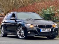 USED 2015 15 BMW 3 SERIES 2.0 320d M Sport Touring (s/s) 5dr SAT NAV / LEATHER / STUNNING