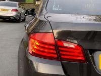 USED 2016 65 BMW 5 SERIES 3.0 530d Luxury 4dr Brilliant Grey / Sat nav
