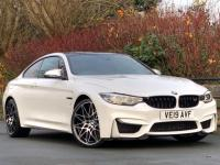 USED 2019 19 BMW M4 3.0 BiTurbo Competition DCT (s/s) 2dr Red Leather / Mineral White