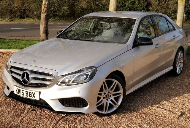 2015 15 MERCEDES-BENZ E CLASS 2.1 E250 CDI AMG NIGHT EDITION TIP 4d AUTOMATIC 201 BHP/ 19'IN SPORT ALLOYS/ SAT NAV/ HEATED SEATS/LED LIGHTS