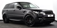 """USED 2016 16 LAND ROVER RANGE ROVER SPORT 3.0 SD V6 HSE CommandShift 2 4X4 (s/s) 5dr Pan Roof, Black Pack, 22""""s ++"""